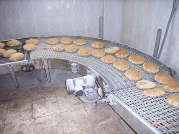Full Auto Automatic Tortilla Machine Belt Width Customized With Turnkey Bakery Solution