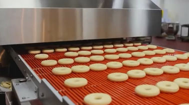 High Automation Donut Production Line with Industrial Dough Sheeting Solution