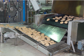 Full Auto Pita Production Line 850 Mm Belt Width With Dough Sheeting System