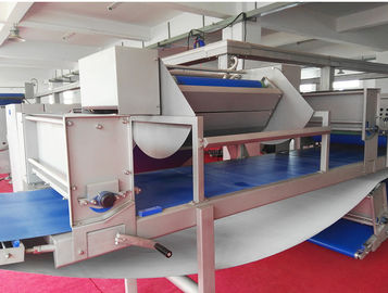 China 18000 Pcs / Hr Croissant Production Line 800mm Belt Width For Straight Unfilled Croissant factory