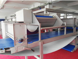 18000 Pcs / Hr Croissant Production Line 800mm Belt Width For Straight Unfilled Croissant