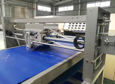 800mm Width Dough Sheet Dough Laminator Machine , Danish Pastry Laminating Line