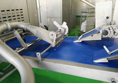 Industrial Puff Pastry Production Line With Auto Fat / Butter Feeding Pump