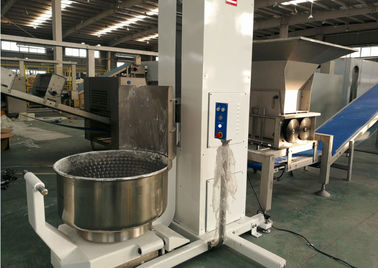 Industrial Laminated Dough Block Laminator 200 Kg Volume Dough Mixer & Bowl Lifter