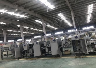 China High Accuracy Croissant Production Line 304 Stainless Steel Material For Pinched Croissant factory
