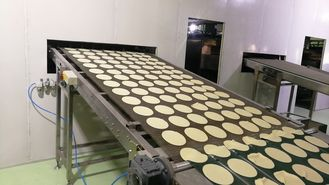 Automatic Tortilla Making Machine , Industrial Bakery Equipment For Pita / Flatbread