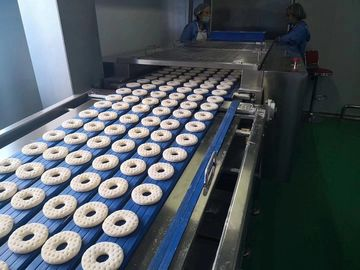 Automatic Donut Maker Machine , Industrial Donut Machine For Bread / Yeast Donut