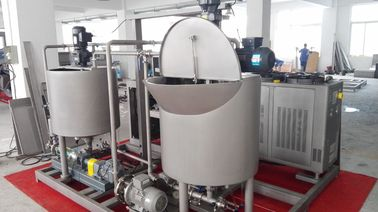 China Good Perfomance Sponge Cake Maker , Cake Dissolver System With 350kg Production Capacity factory