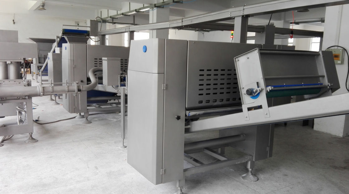 Industrial Project Pita Bread Line , Customized Pita Bread Machinery With Turnkey Solution