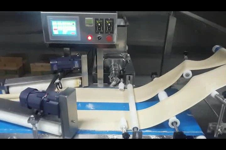 ZKS380 Smaller Puff Production Line With Two Auto Freezing Tunnels